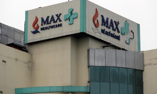 View Of Max Hospital In New Delhi, on September 7, 2018. (Photo by Nasir Kachroo/NurPhoto via Getty Images)